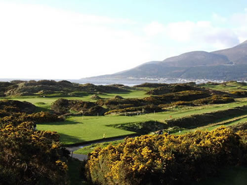 Royal County Down G.C. Newcastle, N. Ireland
