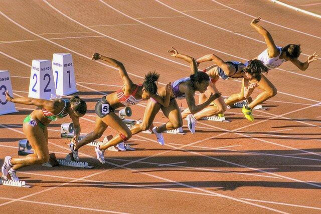 Partida corrida atletismo